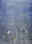Hogweed by Lil Tudor-Craig. Environmental Artist in Lampeter Wales