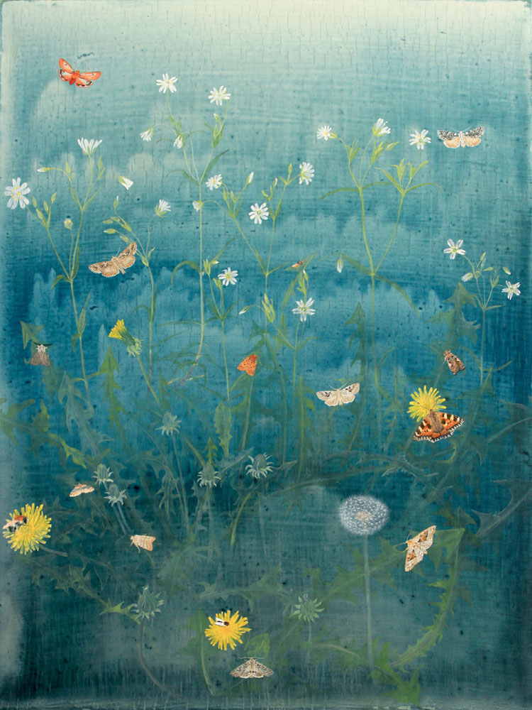 Dandelion by Lil Tudor-Craig. Environmental Artist, Lampeter Wales