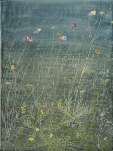 Lincolnshire Meadow by Lil Tudor-Craig. Environmental Artist, Lampeter Wales